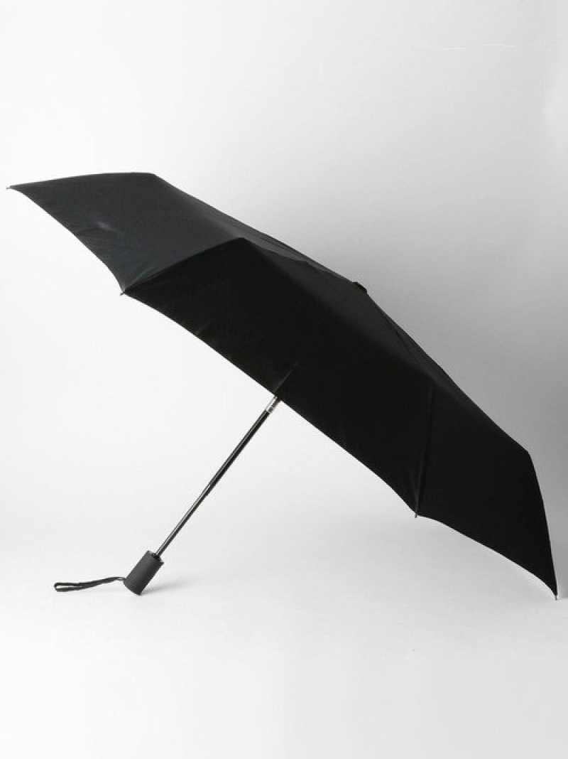 [RakutenFashion]BCGLRSOLID折りたたみ傘UNITEDARROWSgreenlabelrelaxingユナイテッドアローズグリーンレーベルリラクシングファッショングッズ日傘/折りたたみ傘ブラックカーキネイビー