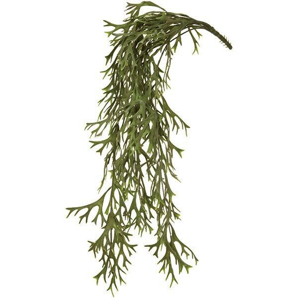 人工観葉植物 コウモリラン バイン 全長76cm 2本セット ビカクシダ 人工樹木 造花 葉材 リーフ インテリアグリーン フェイクグリーン ディスプレイ