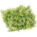 屋外にも対応 人工芝 ダスティミラー ガーデンマット 2枚セット 口35cm×厚み8cm 人工観葉植物 造花 リーフ グリーン材 葉材 エクステリア 園路 ディ