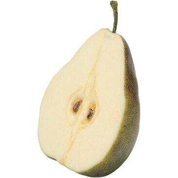 【食品サンプル】 カット ペアー 全長12cm 5個セット 西洋なし 洋梨 果物 フルーツ フェイクフード 食品模型 オブジェ ディスプレイ アレンジ 装飾