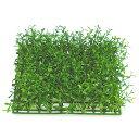 人工芝 ミニフェザーグラス マット 2枚セット 口26cm×厚み7cm 人工観葉植物 造花 花材 リーフ DIY フェイクグリーン アレンジ ディスプレイ