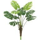 屋外対応 モンステラ 全長105cm(造花 フェイクグリーン インテリアグリーン 南国 トロピカル 人工観葉植物)