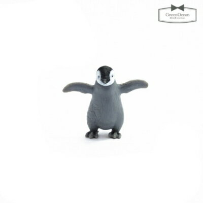 【動物 フィギュア】ペンギンのペン太【動物 フィギュア ペンギン 動物園 小物 モチーフ ビーズアンドパーツ アクセサリーパーツ】