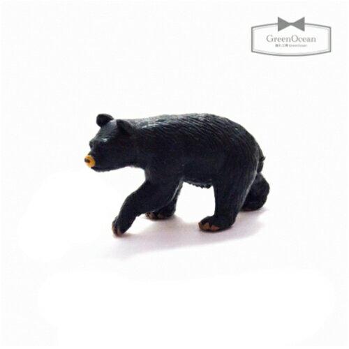 【ミニフィギュア】クマの紋次郎【animal 動物 熊 くま ベア ビーズアンドパーツ アクセサリーパーツ】