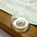 【ガラスドーム】半球  (ガラスのみ) 《クリア》【瓶 ビン...
