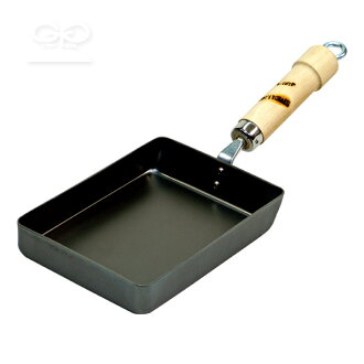 河燈杆羅茨系列鐵煎鍋雞蛋烤小河燈和鐵煎鍋 (為烘蛋 / 烤雞蛋 / 氣 IH / 日本製造 / 4903449118182)