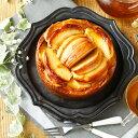 パティシエ山崎友紀によるマクロビケーキ【クール便送料別途】贅沢林檎のケーキ 5号15cm 100%植...