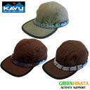 【国内正規品】 カブー ストラップキャップ 19 帽子 KAVU Strap Bucket Hat コットンキャップ