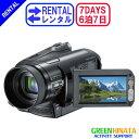 【レンタル】 【6泊7日HC9】 ソニー HDVビデオカメラ ウエアラブル SONY HDR-HC9 ...
