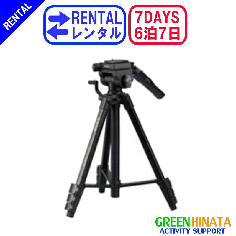 【レンタル】 【6泊7日60AV】 ソニー リモコン三脚 オプション SONY VCT-60AV ビデオ三脚