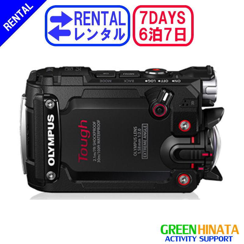 【レンタル】 【6泊7日TG-TRACKER】 オリンパス アクションカメラ オプション OLYMPUS TG-TRACKER フィールドログカメラ 防水デジタルカメラ スタイラス