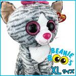 BeanieBoo's(ビーニーブーズ)ぬいぐるみXL(40cm)【キキ】TY/タイ/猫/ネコ/かわいい/特大/巨大/大きい/ビッグサイズ/ファンシー雑貨/グッズ/カラフル/