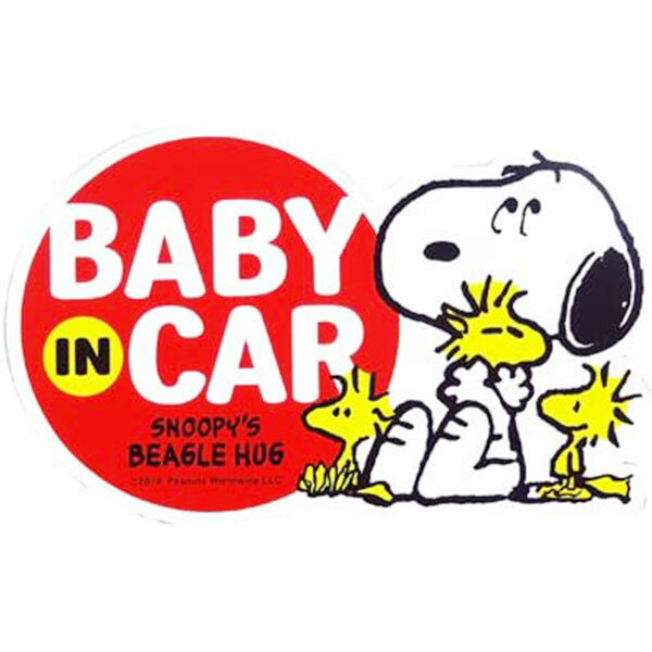 ぬいぐるみ・人形, ぬいぐるみ  SN83 SNOOPYBABY IN CAR