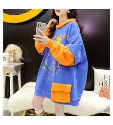 大きいサイズ 韓国ファッションファッション パーカー LL〜4L(T)