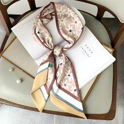 スカーフ ファッション 日焼け止め 花 可愛い レディース 韓国ファッション (T)