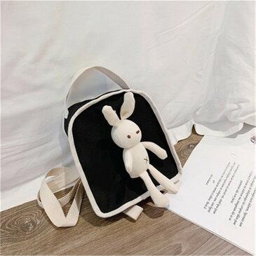 漫画 かわいい ウサギ 女性 ファッション カジュアル 可愛い系 バックパック(T)