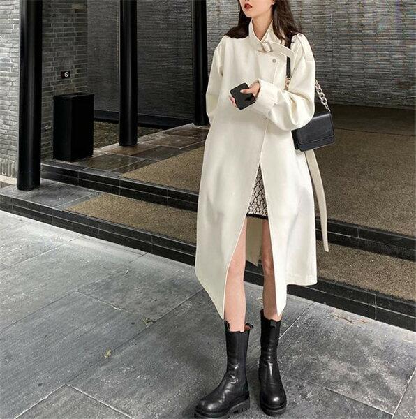 ファッショントレンチコートコートハイエンド雰囲気(T)