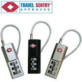 TSA コンビネーション ケーブルロック (TL-03T) 2870 メール便OK(ko1a136)