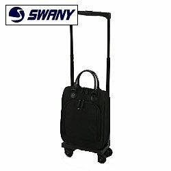 SWANY(スワニー)ウォーキングバッグ パーショ2 35cm M15サイズ D-117 4輪キャリーバッグ 黒11791 ...