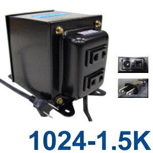 GPTGK1024-1.5K アップトランス 日本製 AC100V⇒昇圧⇒220-240V(容量1500W)(to6a016)