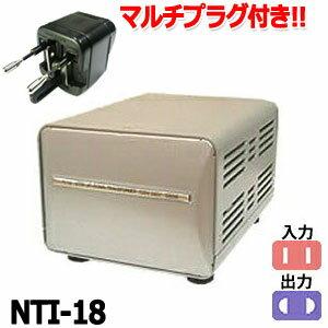Kashimura カシムラ 2口マルチトランス NTI-18 保証付 AC220-240V(合...