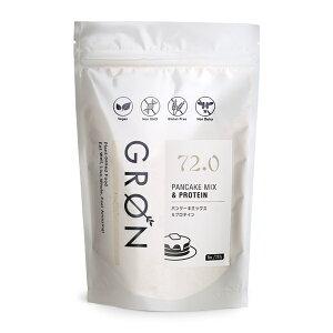GRON グロン [グルテンフリー] パンケーキミックス & プロテイン / 227g