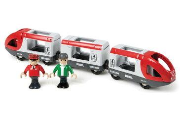BRIO(ブリオ) 木製レール トラベルトレイン 人形が乗る列車 木のおもちゃ