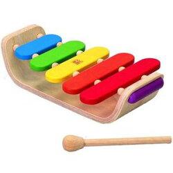 木製楽器玩具プラントイオーバルシロフォン木琴