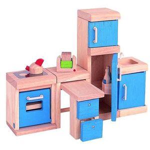 プラントイ 木のおもちゃ PLANTOYS ドールハウス カラーキッチン おままごとに 木製玩具 【あす楽対応】