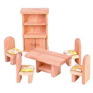 プラントイ 木のおもちゃ PLANTOYS ドールハウス クラシックダイニングルーム おままごとに 木製玩具 【あす楽対応】