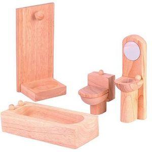 プラントイ 木のおもちゃ PLANTOYS ドールハウス クラシックバスルーム おままごとに 木製玩具