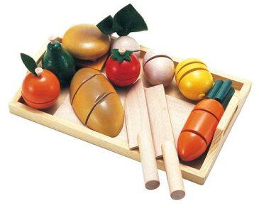 おままごとセット 木のおもちゃ ままごといっぱいセット 包丁 野菜 【あす楽対応】