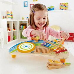 Hapeハペ社木のおもちゃマイティミニバンドパーカッション知育楽器楽器玩具