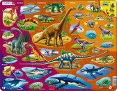 ラーセン 85ピース ディノサウルス パズル 英語 恐竜 LARSEN 【あす楽対応】