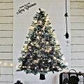 インスタ、SNSでも人気!壁に飾るクリスマスタペストリー・LEDライトのおすすめは?