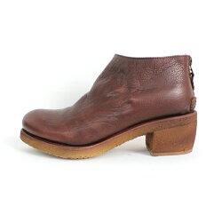 【送料無料】【2016秋冬新作】SECCHIARIMICHELEPuntoPigro/セッキアーリミケーレプントピグロTEXAS24Mムートンライニングショートブーツダークブラウン|ground|靴|