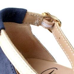 【2017春夏】GAIMO/ガイモNOVITAアンクルベルトスウェードサンダルガーネット ground 靴 