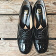 【送料無料】【2017春夏】chausser/ショセ C2185レースアップパテントマニッシュパンプス|ground|靴|