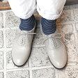 【送料無料】【2017春夏】chausser/ショセ C-2253 サイドゴアレースアップマニッシュシューズ ライトグレイ|ground|靴|
