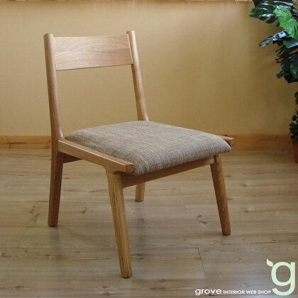 ■ダイニングチェア【1脚】■カラー:ナチュラル■天然木フレームの食卓椅子■送料無料