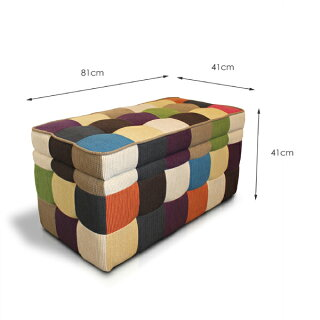 P19Jul15CSBスツール収納椅子Lサイズ■81×41cm長方形■収納付きオットマンbox■ボックス北欧モダン■収納スツール送料無料送料込み■キッズルームのあるお店にも♪2人掛けソファ北欧座れるおもちゃ箱