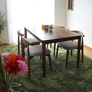 商品名 RENOリーノダイニングセット食卓テーブルカラー ウォールナットサイズ テーブル:幅130奥行80高72cmサイズ チェア:幅52奥行48高70cm生産国 ベトナム主素材 ウォールナット無垢