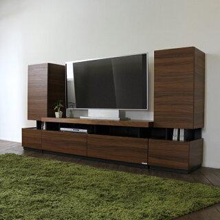 10P05Oct15RSテレビ台150cmテレビボードローボードカラー ブラウンサイズ 幅150×奥行45×高さ45cm生産国 国産日本製主素材 硬質紙ウォールナット柄シンプル北欧モデム収納TV台TVボード完成品16032型