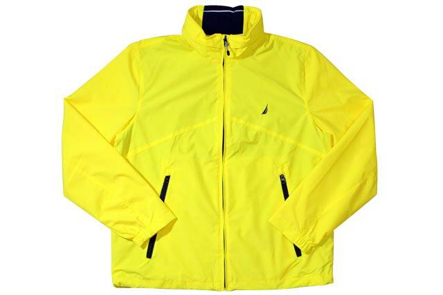 Nautica Rainbreaker Jacket (JR5101: Yellow)ノーティカ/ナイロンジャケット/イエロー