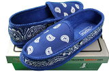 TROOPERHOUSESHOES(KS-002:ROYALBLUE/BANDANA)