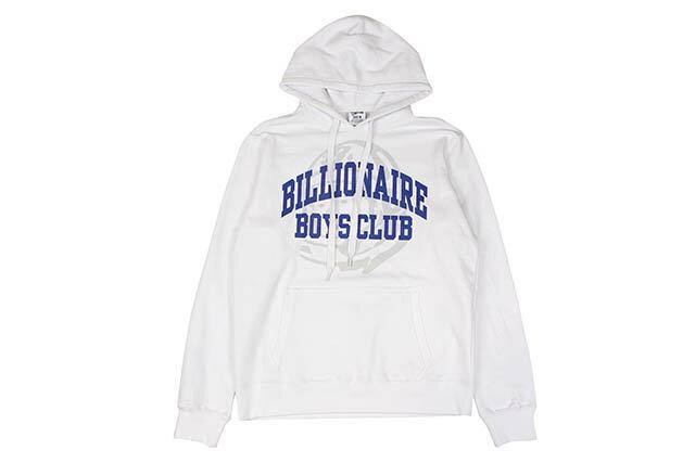 トップス, パーカー BILLIONAIRE BOYS CLUB BB COLLEGIATE HOODIE (881-9312:WHITE)