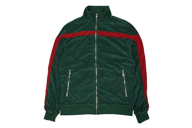 メンズファッション, コート・ジャケット JORDAN CRAIG LUCIANO VELOUR TOP (8309T:GREEN)