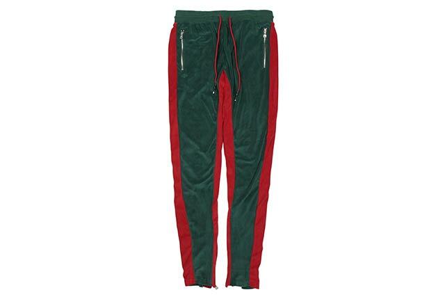 メンズファッション, ズボン・パンツ JORDAN CRAIG LUCIANO VELOUR PANTS (8309:GREEN)