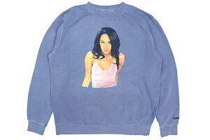 "CLASSIC MATERIAL NY ""AALIYAH"" CREW SWEAT(PIGMENT SLATE BLUE)クラシックマテリアルニューヨーク/クルースウェット/ピグメントスレートブルー"
