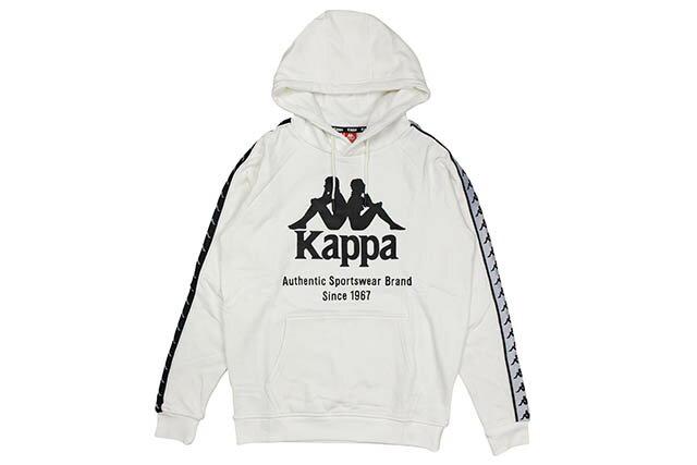 トップス, パーカー KAPPA 222 BANDA PO HOODY (K08Y2MT65MWT:WHITE)